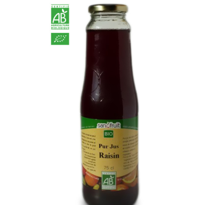 Jus de Raisin BIO (75cl)
